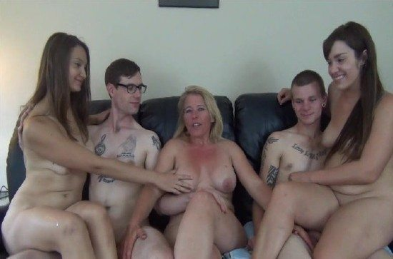Busty femdom strapon gals fuck men mistress domination pic