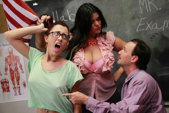 aincest - 0520 Roxanne Rae, Angelina Castro - 2 Disciplinaries for the Price of 1