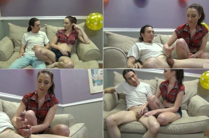 aincest - 1175 First Time Handjobs - I'm 18 Big Brother