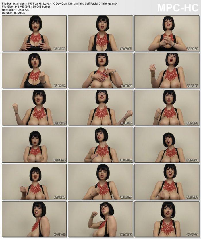 nlarkin-love-10-day-cum-drinking-and-self-facial-challenge-hd-2015