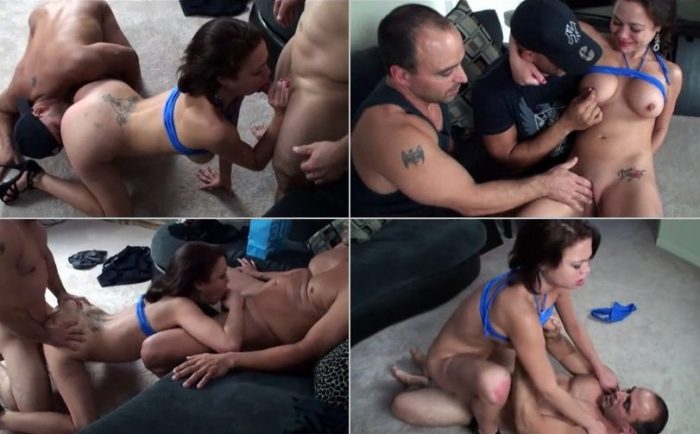 aincest - 1717 Incest Family Threesome Brother, Sister and Father