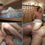 Bad Daddy woke up his cute sleeping Daughter to bang in all positions