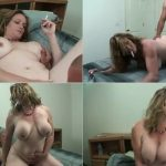 My big tit Mom takes a face full of my cum SD