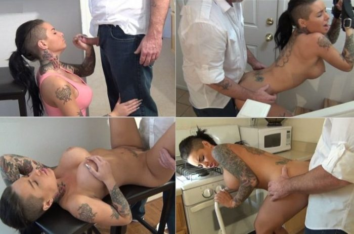 aincest - 1881 Christy Mack - Bad Daddy banged his beautiful busty Daughter