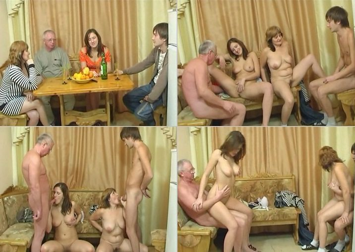aincest - 2326 Crazy Russian Family Mother, Son, Daughter and Father