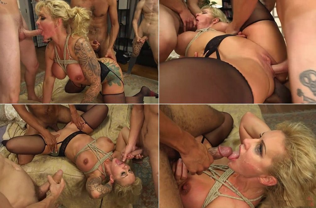 Classic american friends gang bang mom