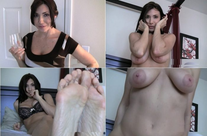 itara-tainton-your-seductress-milks-your-cock-with-her-feet-in-your-eager-face-and-more-sdse