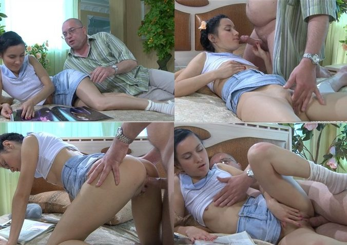 aincest - 2740 Daddy banged schoolgirl Daughter when Mommy leave at home