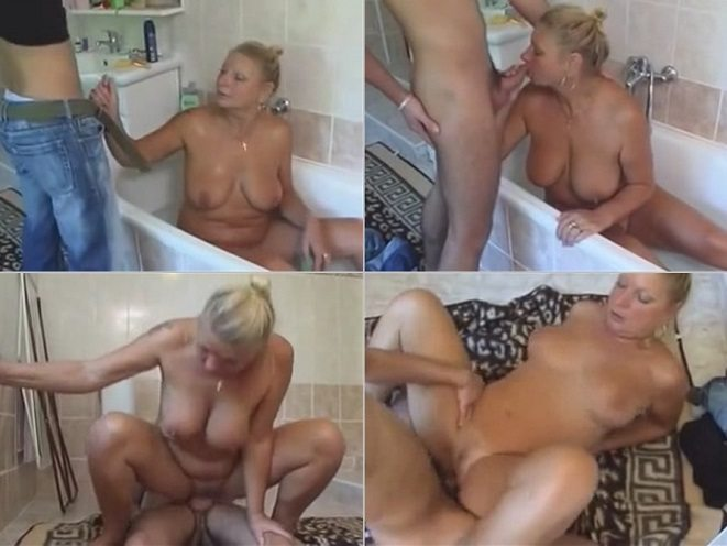 Italian mom in bathroom xnxx hd
