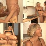 Italian Mom gets hard Anal penetration in her life SD