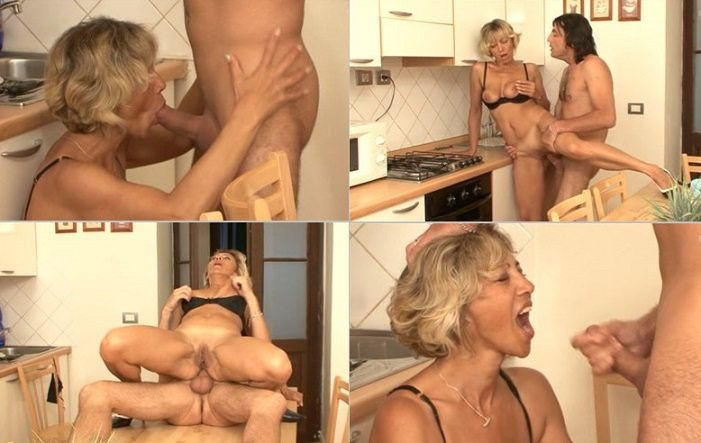 aincest - 2912 Italian Mom gets hard Anal penetration in her life