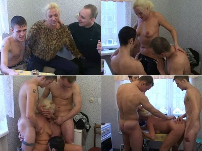 aincest - 3113 Son with two friends fucks beauty Mommy