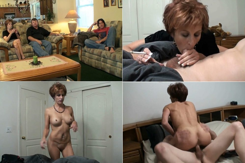 image Stepmom seduces son in new apartment