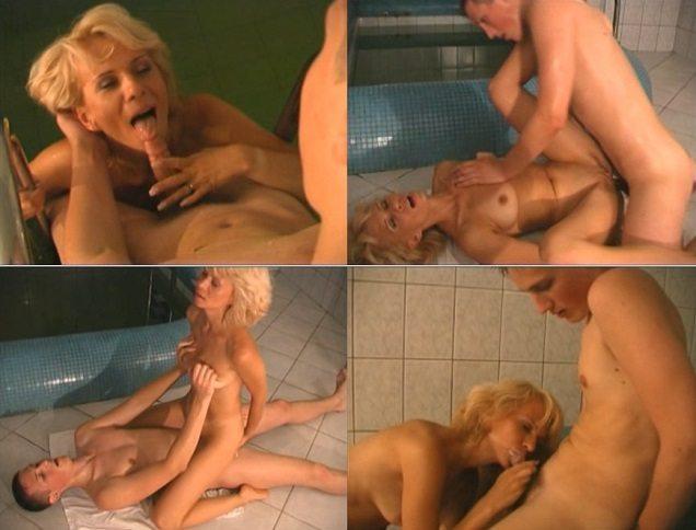 aincest - 3181 Son fucks hot Mommy in Sauna