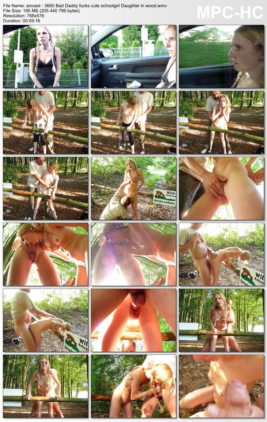 aincest - 3660 Bad Daddy fucks cute schoolgirl Daughter in wood.wmv_thumbs_[2016.01.13_22.11.41]