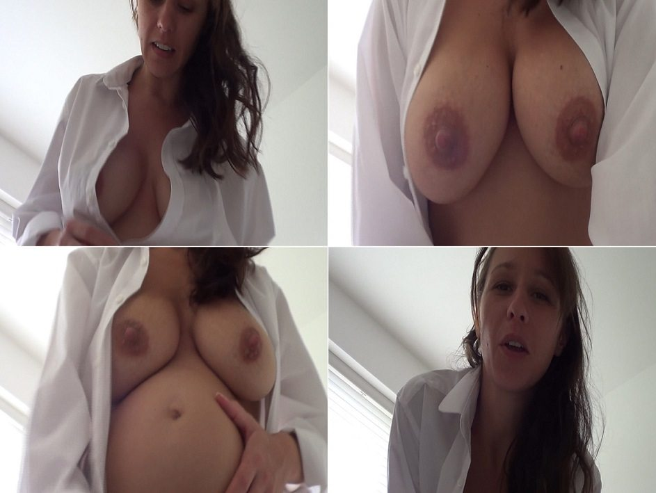 aincest - 4185 Kelly Hart Fondal Mommys pregnant tits and belly Son.avi