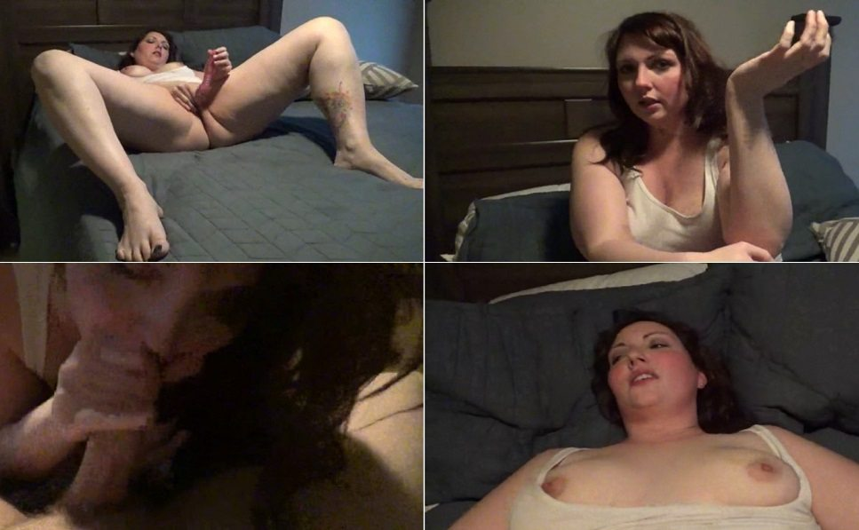 Hot mom catches boy watching porn on internet