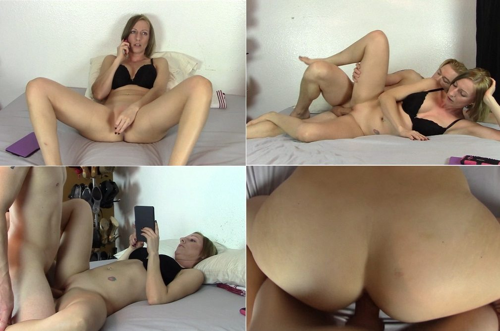 Hot Mom's Pussy Helps Son With Chronic Masturbation