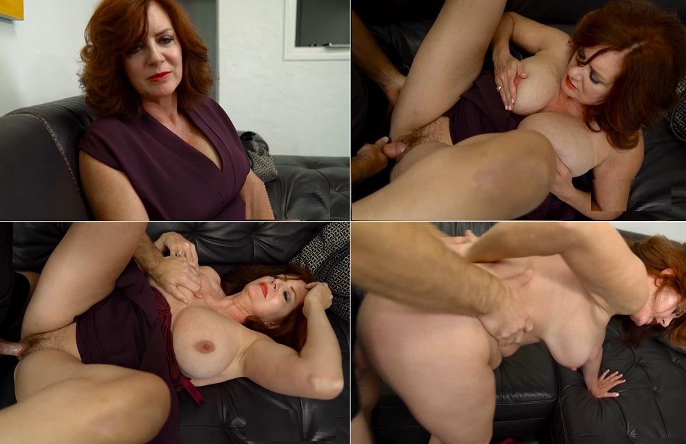 Mommy tells her boy to fuck her harder
