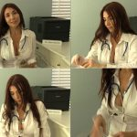 Physical Examination by Mother Doctor – businesswoman, masturbation instruction SD 2017
