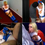 Superheroines Nikki Delano – Power Girl – Weakened, Defeated, Mesmerized – magic control, forced orgasm HD