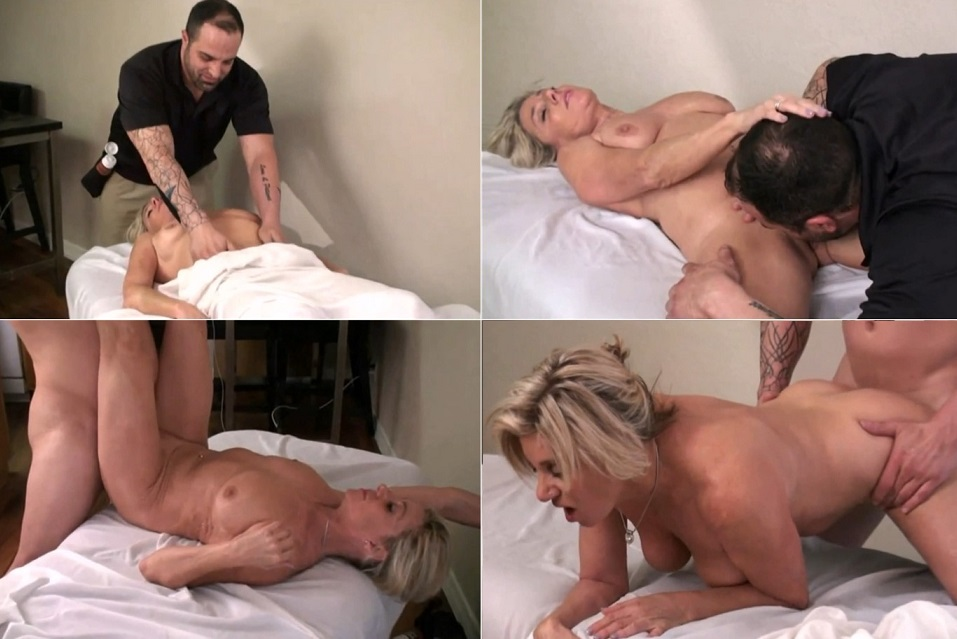 Paytons Place – Payton Hall – Son In Law Gives Mother In law Massage – Wife's Mom / Daughter's husband HD 1080p