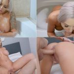 Nina Elle, Logan Long – A Creampie For my Best Friends Mom – Bath Time with My Mother HD 2018