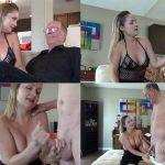 JERKY GIRLS – Daddy Daughter Day – Daughter make Daddy hot handjob HD