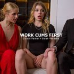 Giselle Palmer, Sarah Vandella – Work Cums First – Boss Fuck Me and My Daughter SD 2018