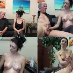 JERKY GIRLS – Pregnant And Jerky – My Old Daddy want Cum FullHD mp4