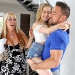 Lilly Ford – Daughter fucks Daddy while Mommy sleeps – Quick Family Sex SD mp4 2018