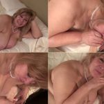 Curvy Sharon's Mommie Fantasies – Mommie Gives You Your First Blow Job HD mp4