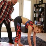 Cyrus King, Pepper Hart – Yoga With Daddy – Daughter lost anal virgin after training HD mp4 [720p/2018]