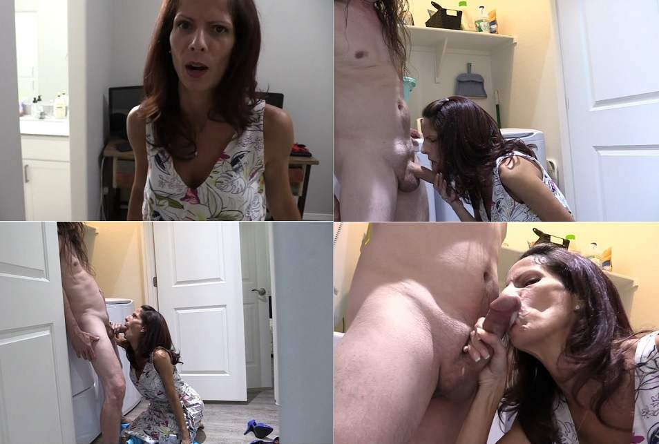 She Sucks My Cock Or I'll Blackmail Her -