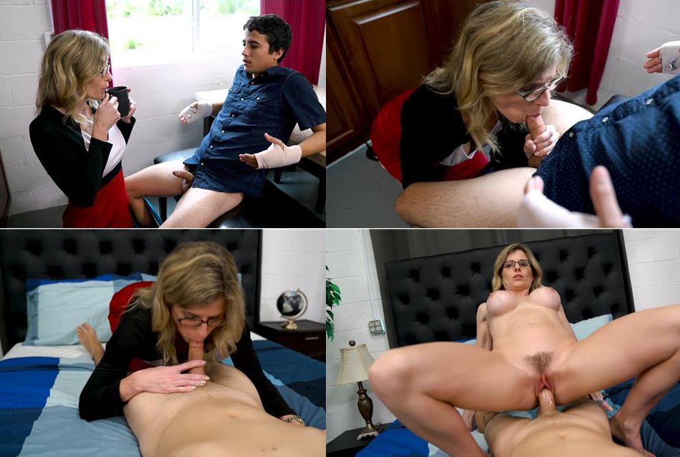 Jerky Wives – Cory Chase, Ricky Spanish – Mother Son Fantasies FullHD mp4  [1080p/2018]