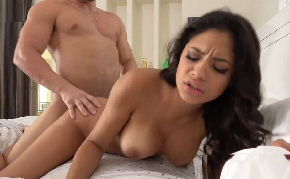Family Manipulation – Serena Santos – Finding Comfort in Her Brother's Arms HD
