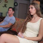Movie night with my Daddy – Stepdad Takes My Virginity – Alyce Anderson 4k
