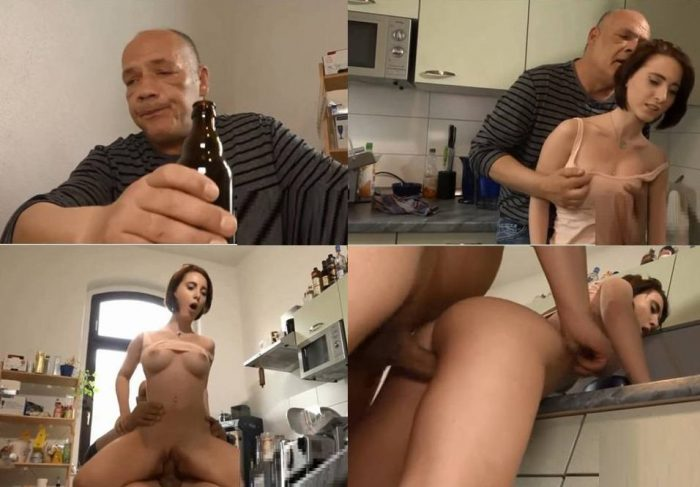 German Family – Lia Louise, Egon Kowalski – Hello Police? Drunk Daddy fuck Me again HD avi