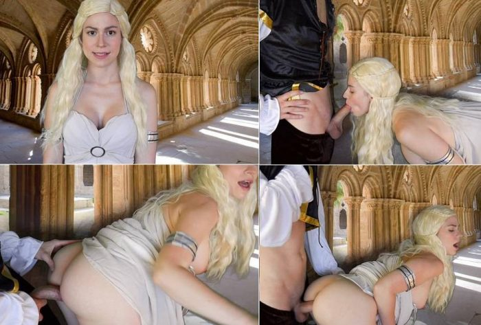 Ashley Alban Sucks Fucks and Shakes – Daenerys Seduces You – Game of Thrones Incest Video FullHD mp4