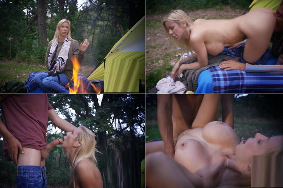 Alexis Fawx - Family Camping with My Mommy - Outdoor Incest Video