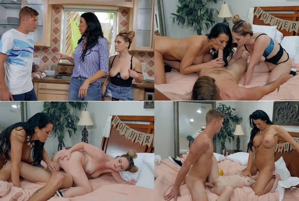 [Incest 2019] Family Group Porn – Reagan Foxx & Kara Lee – Stepmom Has Her Day HD mp4 720p