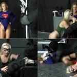 Cherie DeVille, Emerald Avenger – Superheroine Ransom – Defeated Heroines HD avi
