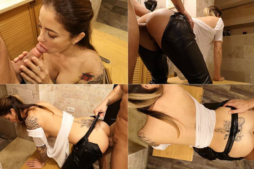 Wet Kelly - Son Ripping My Pants And Creampie My Ass