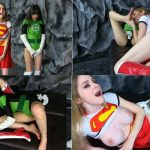 Primal's Darkside Superheroine – Nadya Nabakova – The Power of Eros – Supergirl and Green Lantern Overwhelming Lesbian Lust XXX HD mp4 720p