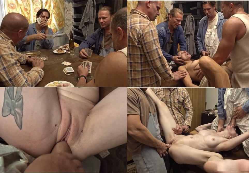 Perversefamily - Daughter All-in - Daddy lost Daughter`s virgin in Poker HD mp4