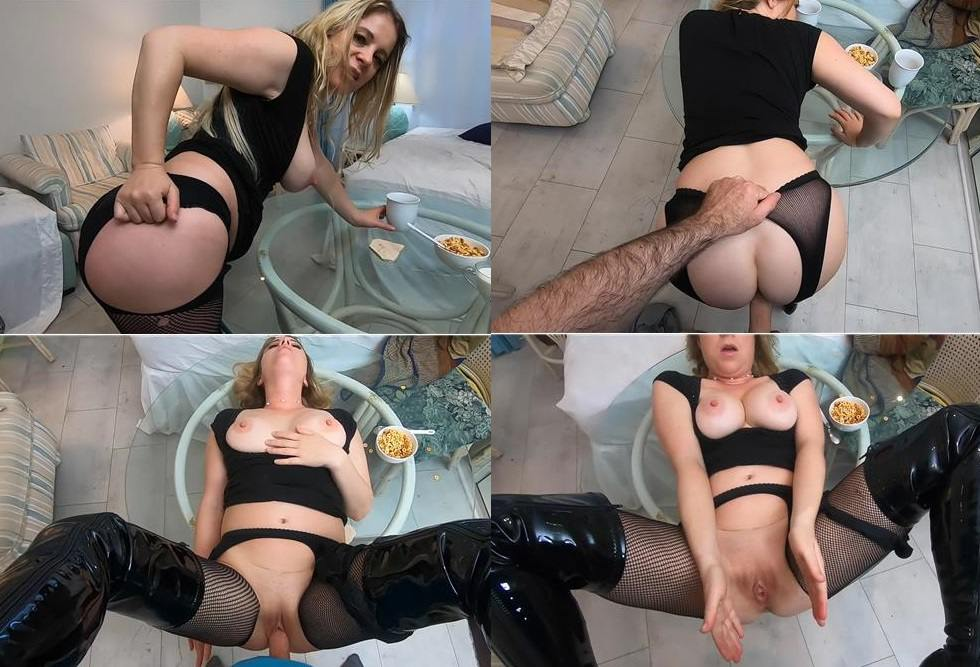 [Incest 2019] Erin Electra, Matthias Christ – Mommy sucks and fucks you at breakfast FullHD mp4 1080p