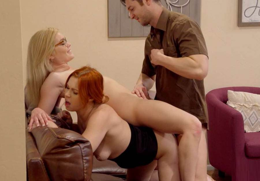Edyn Blair & Katie Kush - Special Delivery for Mom and Daughter