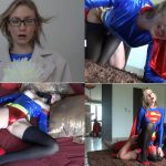 Angel The Dreamgirl – Fucked Super Girl Thru Pantyhose and Cum on her legs FullHD mp4 1080p
