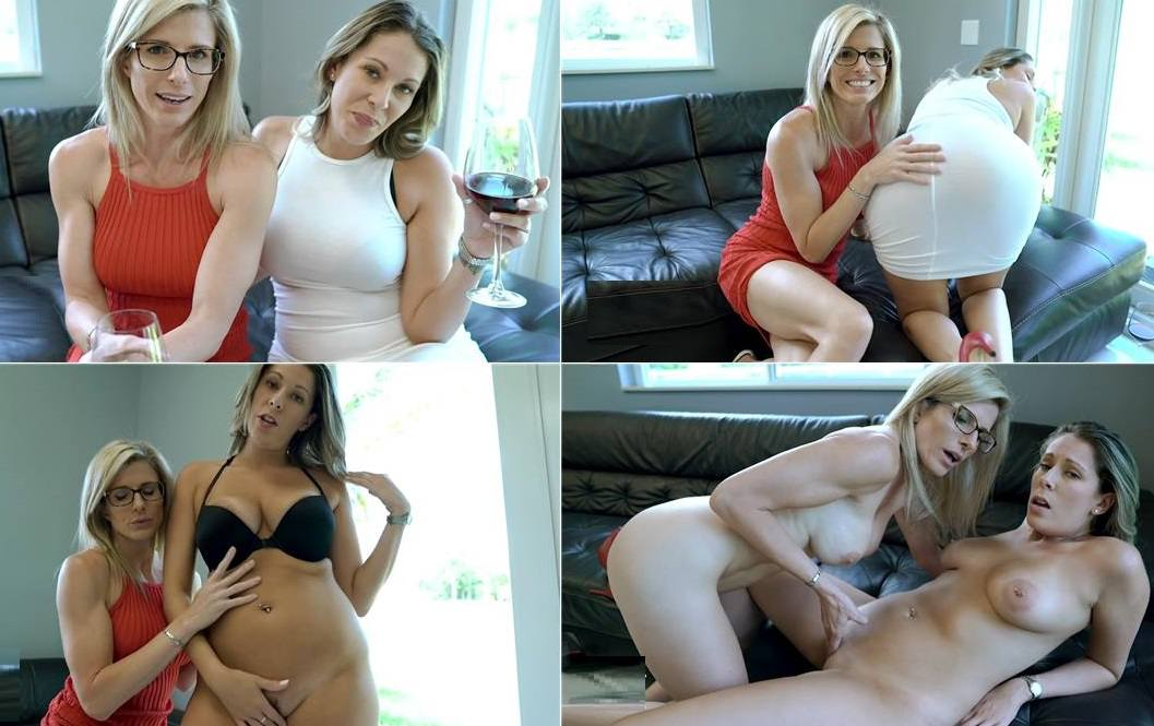 Kinki Cory - Nikki Brooks and Cory Chase - Stripping MILF Countdown