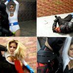 Primal's SUPERHEROINE SHAME – Jessa Rhodes – Power Girl – Defeated and Left to Perish HD avi